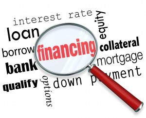 financing magnifying glass